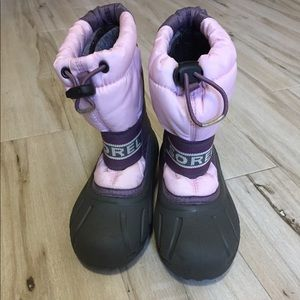 Sorely snow boots kids 11